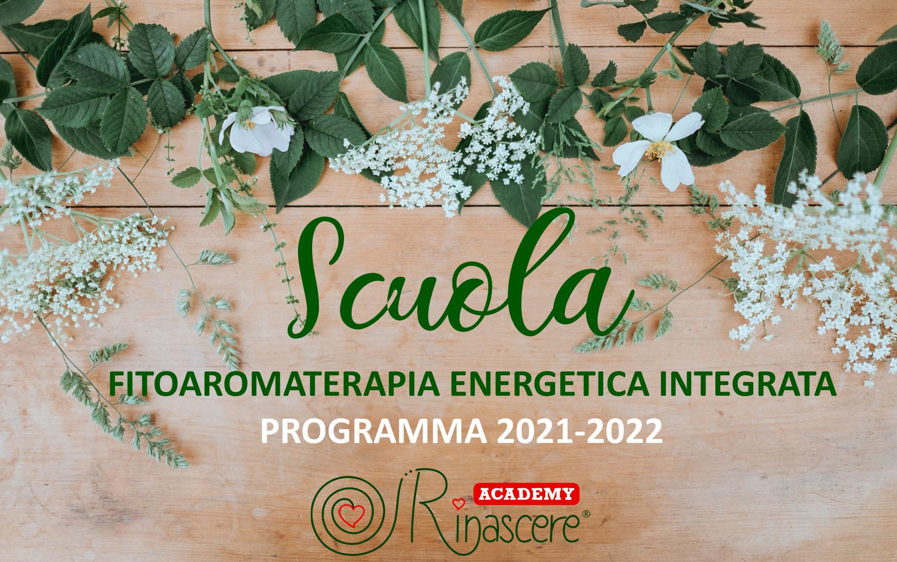 SCUOLA FITOAROMATERAPIA ENERGETICA INTEGRATA  ONLINE